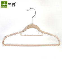 custom crakel paint plastic hanger for clothes ABS material