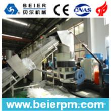 Chaîne de production d'agglomération de granulation de 80-120kg / H PE / pp de réutilisation de film plastique / de granulation / granulation