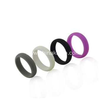 Mixed Colors Sports style Silicone Soft Sport Ring