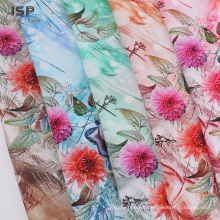 Woven Rayon Fabric Digital Print