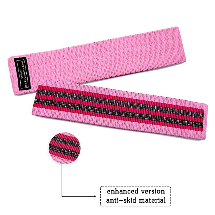 Tissu Booty Band Gym Fitness Glute Resistance Band