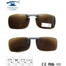 2015 Модный дизайн клипа на солнцезащитные очки, поляризованные солнцезащитные очки объектива