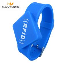 Mifare Ultraleve C Pulseira de Silicone com Pulseira RFID