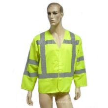 Привет viz безопасности Reflectice куртка с длинным рукавом