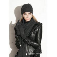 2016 livraison gratuite qualité hiver bonnet tricoté