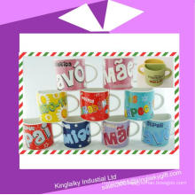 Ceramic Half Mug with Logo Branding for Promotion Cm017-001