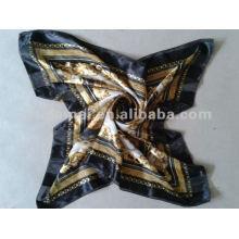 Fashion printed 100% silk scarf women