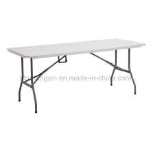 Hot Selling 6ft Blow Mould Plastic Folding Table