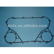 M6B Junta de nbr para la Junta de intercambiador de calor de placa y placa, M6B empaque para la venta