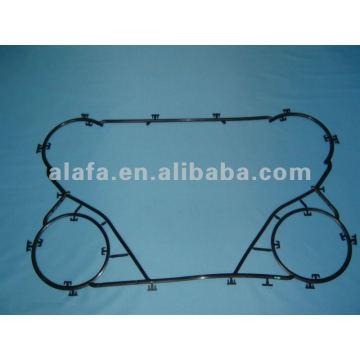 M6B nbr прокладка пластинчатый теплообменник прокладки и пластина, M6B прокладка для продажи
