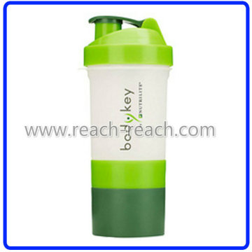 450ml Protein Kunststoff Shaker Cup (R-S039B)