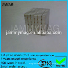 Super Strong Sintered Neodymium Cube Magnets For Hot Selling