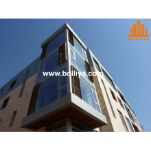 Composite Zinc Wall Covering