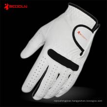 White Leather Golf Glove