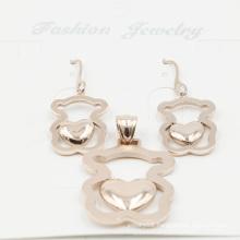 Fashionable Stainless Steel Imitation Jewelry Set