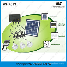 Panel solar de 4W 3PCS 1W SMD LED Kit solar con función de cargador de teléfono