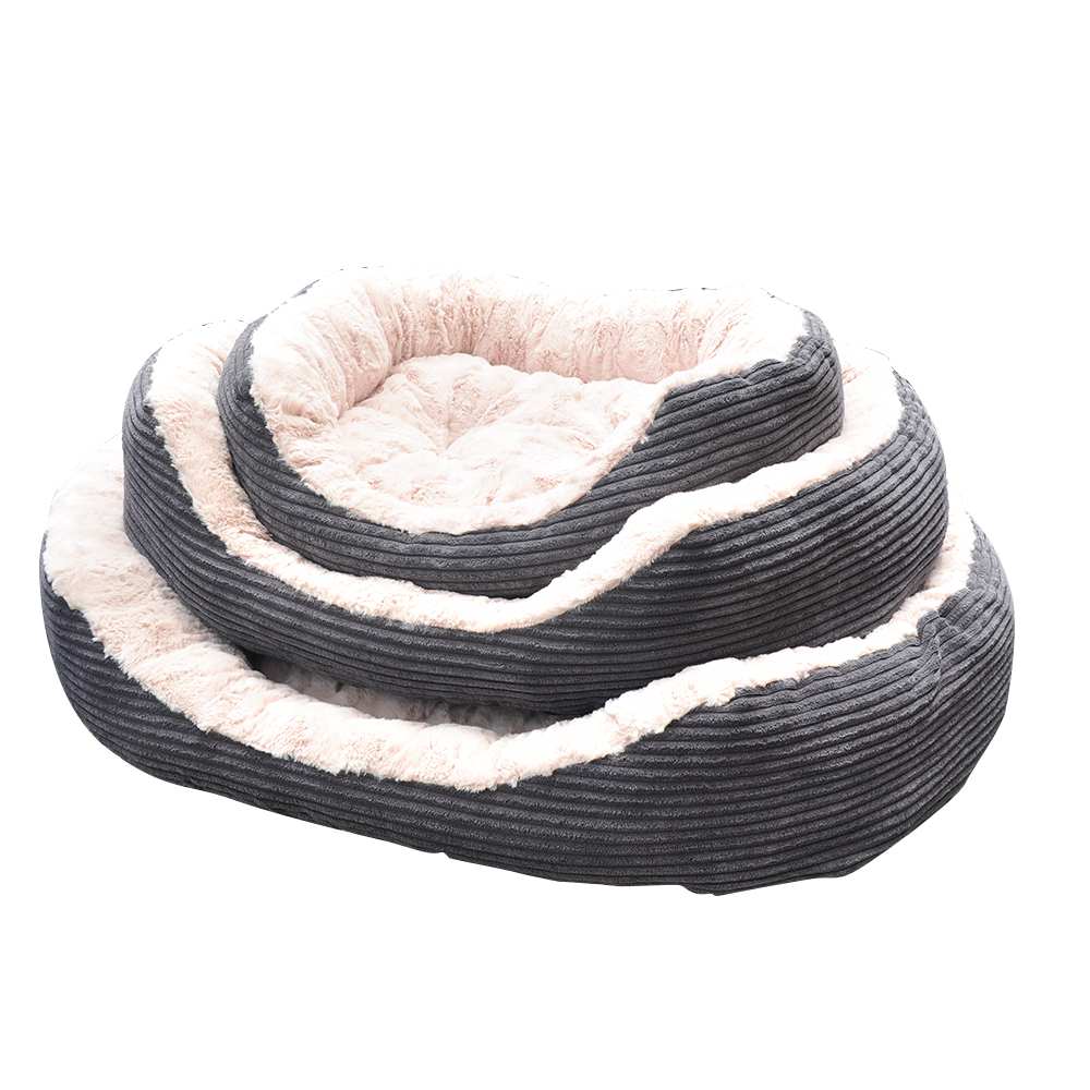 Pet Bed - Lounger Plush Cord