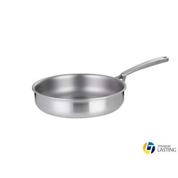 Utensilios de cocina de titanio Sartén para moscas Ollas para asar