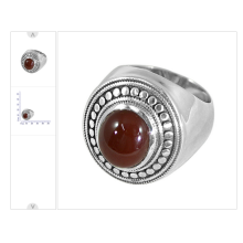 AWESOME RED ONYX GEMSTONE WITH 925 SOLID SILVER TRADITIONAL DESIGNER RING ENGAGEMENT JEWELRY