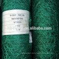 PVC-beschichtetes Draht gewebtes sechseckiges Masche-Geflügelfilet-Maschendraht-Fechten