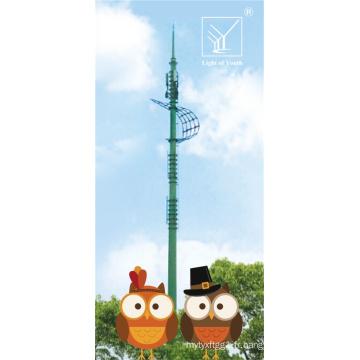 Tour de télécommunication complète de 40 m pour le secteur éducatif