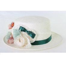 Señora caliente Straw Hat de la venta, verano se divierte la gorra de béisbol