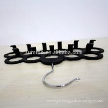 wholesale practical wooden hanging scarf hangers