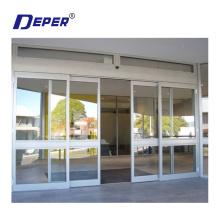 Aluminium profiles automatic glass sliding door closer automatic sliding door machine