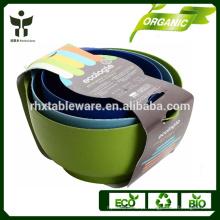 Frasco de frutas eco biodegradável recipiente de frutas bambu