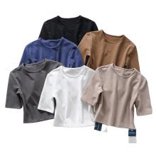 Angepasste Sport Yogo Crop Tops T-Shirts Frauen