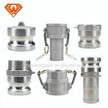 acoplamiento rápido de aire acondicionado de acero inoxidable
