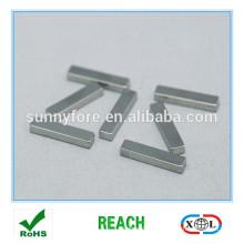 bloc de revêtement nickel aimant de Ndfeb N48H