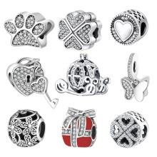 Fashion European Beads Bracelets Jewelry 925 Sterling Silver