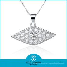 Collar de plata de la manera al por mayor de la joyería para el regalo (N-0061)