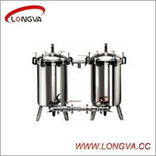 Filtro dúplex del acero inoxidable de Wenzhou Food Garde