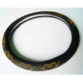 Car Super Fiber Leather plastic steering wheel cover