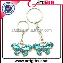Porte-clés en métal personnalisé avec de l'acrylique