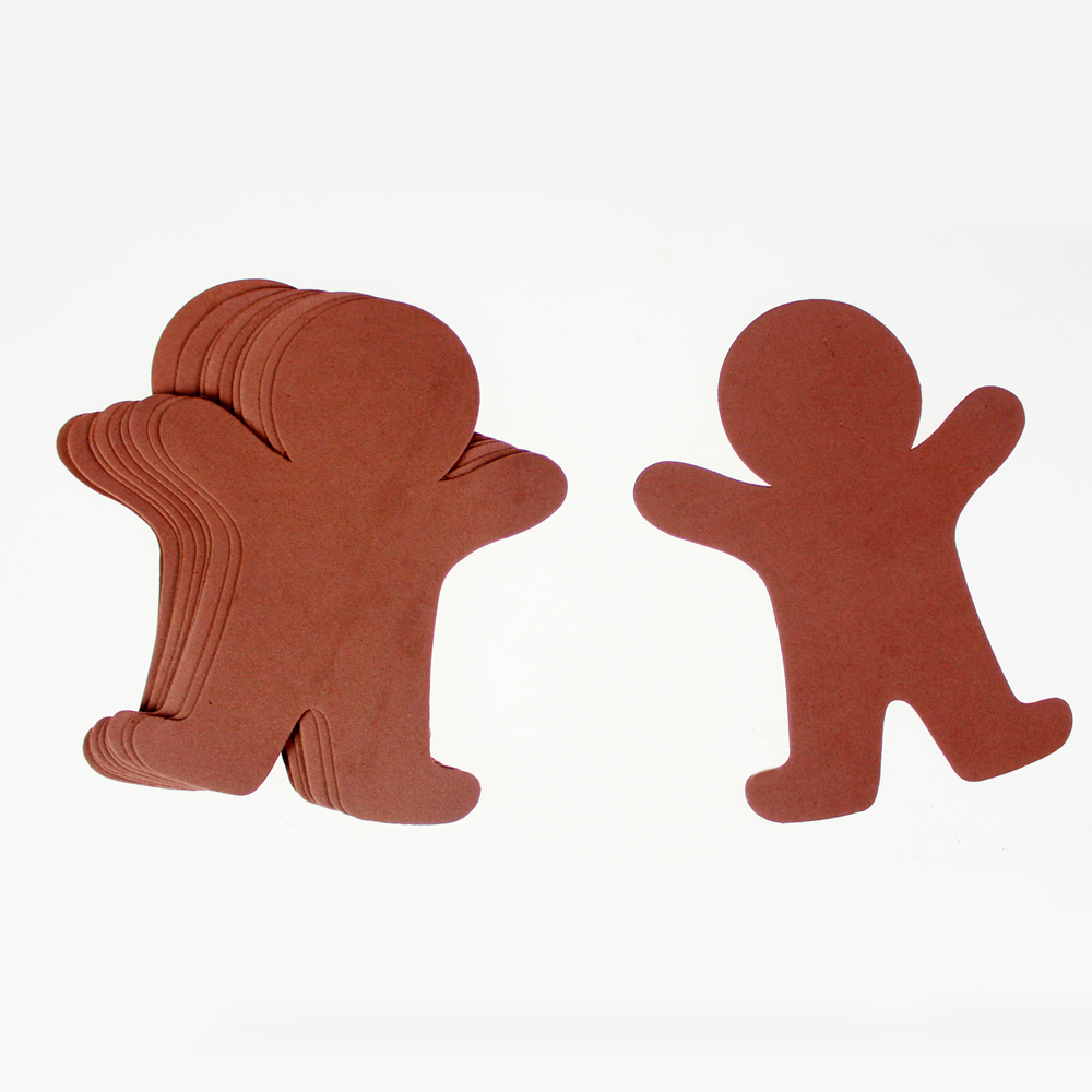 Foam Gingerbread man