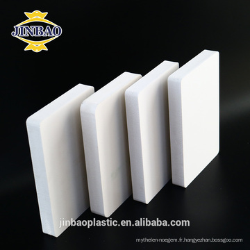 JINBAO 10mm 15mm laser impression pvc mousse haute brillance feuille de pvc