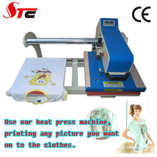 CE aprovado sublimação térmica imprensa máquinas T camisa impressão máquinas de venda