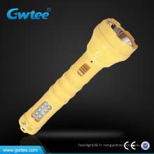 Puissance rechargeable à led Lampe torche à longue portée