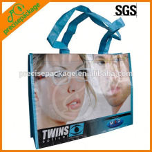 Waterproof laminated tote bag for glass advertising
