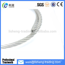 La venta caliente galvanizó el precio de la eslinga de la cuerda de alambre 7 * 7