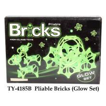 Pliable Bricks Toy Glow Set