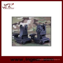 Tactical Gear #71 L estilo polímero Flip-up vista frontal traseira vista moda