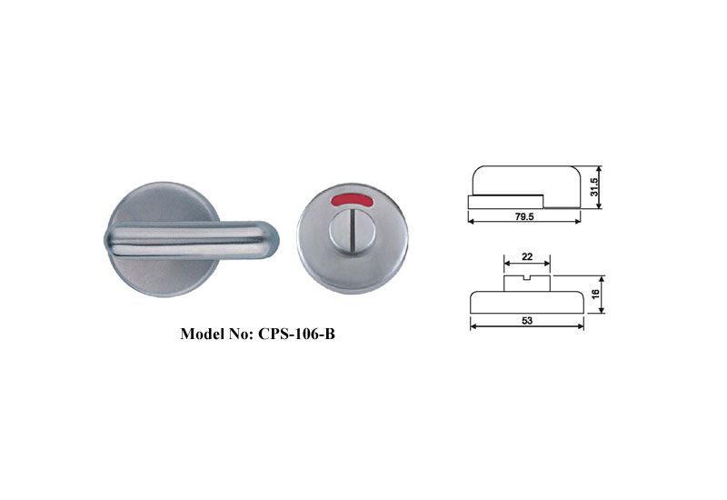 Shower Door Locks for hotel
