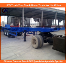 Heavy Duty 40ft 3 Axle Skeletal Container Trailer