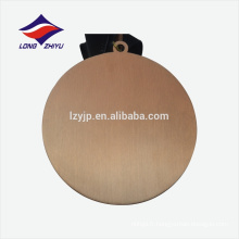 Médaille d'or en alliage de zinc personnalisée en or antique