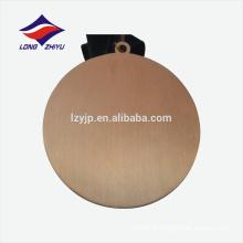 Medalha de lembrança de liga de zinco personalizada de ouro antigo