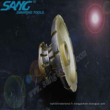 Traitement des outils en pierre Diamond Profile Wheels (SA-016)